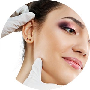 The face surgery - Otoplastica